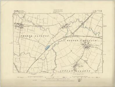 Leicestershire XLV.NE - OS Six-Inch Map