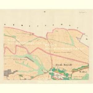 Gross Boytel (Hruby Podolly) - m2328-1-002 - Kaiserpflichtexemplar der Landkarten des stabilen Katasters
