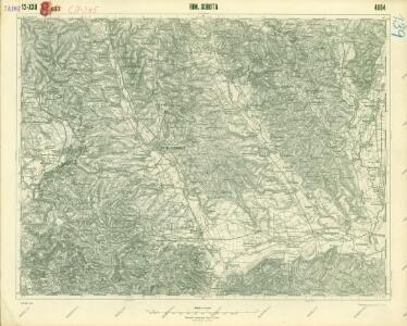 III. vojenské mapování 4664