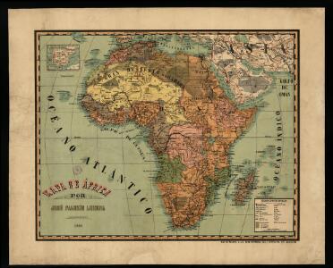 Mapa de África / por José Paluzie Lucena, ingeniero. 1924