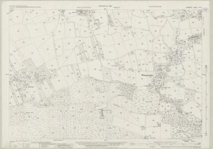 Somerset XVII.11 (includes: Compton Bishop; Winscombe) - 25 Inch Map