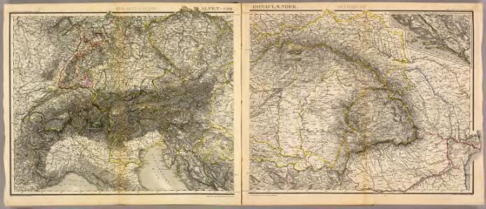 Alpen- u. Donaulaender.