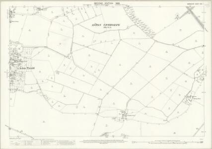 Berkshire XXII.1 (includes: Aston Tirrold; Cholsey) - 25 Inch Map