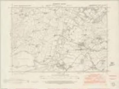 Merionethshire XLVI.NW - OS Six-Inch Map
