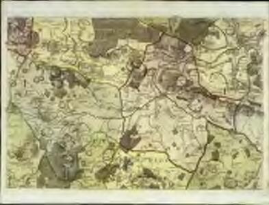 A topographical-map, of the county of Kent, 12