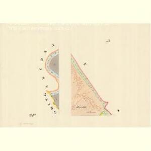 Mikulschitz (Mikulčzice) - m1784-1-007 - Kaiserpflichtexemplar der Landkarten des stabilen Katasters