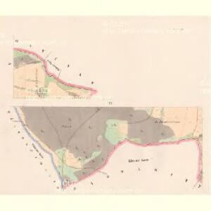 Kotieschau (Kotěssowy) - c2591-1-003 - Kaiserpflichtexemplar der Landkarten des stabilen Katasters