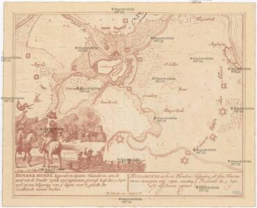 Dendermonde, leggende in Spaans Vlaanderen aan de mont van de Dender zynde noyt ingenomen geweest, heeft den 5 sept.r 1706. na een belegering van 4 dagen voor 't gewelt der Geallieerde moeten bucken