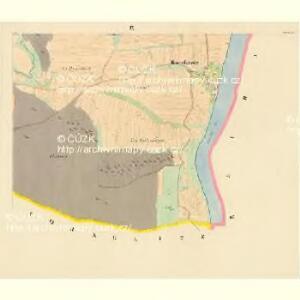 Bohonitz - c0319-1-008 - Kaiserpflichtexemplar der Landkarten des stabilen Katasters
