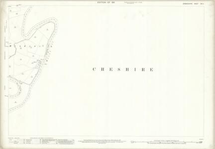 Denbighshire XXII.11 (includes: Aldford; Allington; Churton By Aldford; Churton By Farndon; Farndon; Kings Marsh) - 25 Inch Map