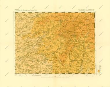 Podrobné mapy zemí Koruny české v měřítku 1:75.000 a mapa vzdáleností všech míst při silnici ležících - Kamenice nad Lípou - Černovice. Průvodce statisticko-historický po všech místech na těchto mapách uvedených a rejstřík věcný názvů hor, potoků, řek, rybníků atd. Sešit 48. List 72,