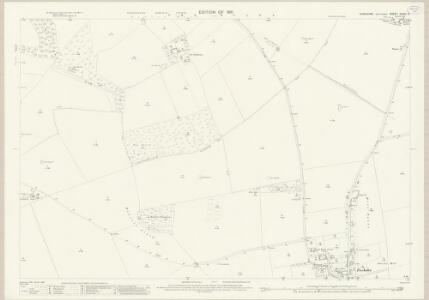 Yorkshire CXXVI.3 (includes: Foxholes; Ganton) - 25 Inch Map