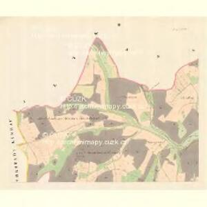 Krügsdorf (Woynowice) - m3455-1-002 - Kaiserpflichtexemplar der Landkarten des stabilen Katasters
