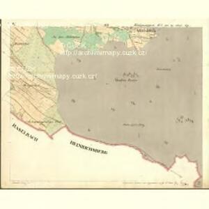 Wassersuppen - c5024-1-005 - Kaiserpflichtexemplar der Landkarten des stabilen Katasters