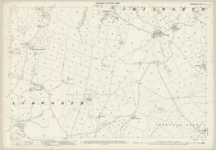 Derbyshire V.2 (includes: Bredbury and Romiley; Chisworth; Marple) - 25 Inch Map