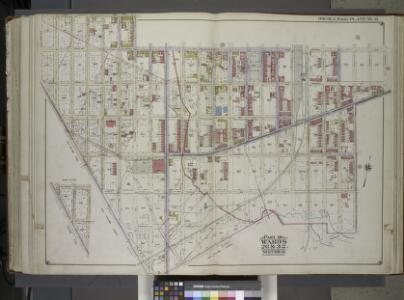 Brooklyn, Vol. 1, 2nd Part, Double Page Plate No. 41; Part of Wards 26 & 32, Section 12; [Map bounded by Riverdale Ave., Georgia Ave., New Lots Ave., Williams Ave., Stanley Ave., E. 108th St., Foster Ave.; Including E. 107th St., Avenue D, Chester St....