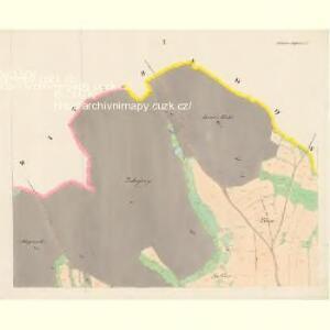Ostrolow-Augezd - c5550-3-001 - Kaiserpflichtexemplar der Landkarten des stabilen Katasters