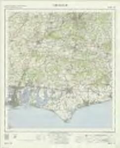 Chichester - OS One-Inch Map