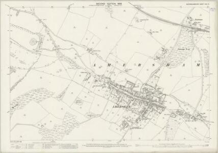 Buckinghamshire XLIII.5 (includes: Amersham) - 25 Inch Map