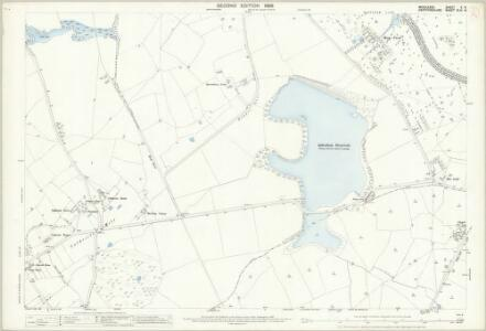 Middlesex V.8 (includes: Aldenham; Bushey; Harrow) - 25 Inch Map