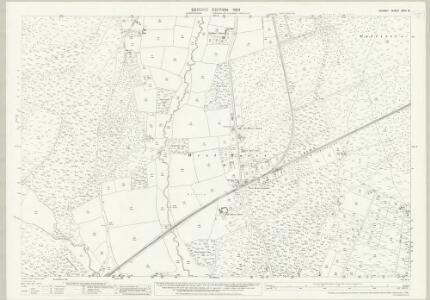 Dorset XXVI.15 (includes: Hampreston; Holt; West Parley) - 25 Inch Map