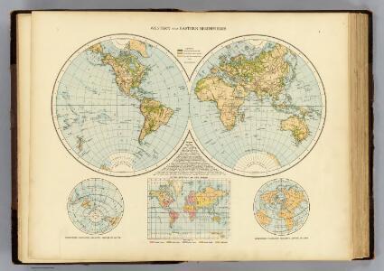 W., E. Hemispheres.
