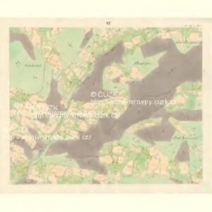 Ober Beczwa (Horny Bečwa) - m0763-1-005 - Kaiserpflichtexemplar der Landkarten des stabilen Katasters