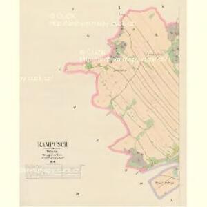Rampusch - c6428-1-001 - Kaiserpflichtexemplar der Landkarten des stabilen Katasters