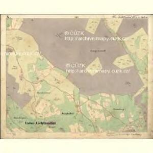 Lichtbuchet Ober - c2161-1-015 - Kaiserpflichtexemplar der Landkarten des stabilen Katasters
