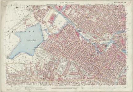 Warwickshire XIII.8 (includes: Birmingham) - 25 Inch Map