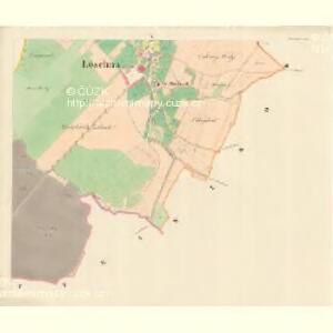 Löschna - m1503-1-004 - Kaiserpflichtexemplar der Landkarten des stabilen Katasters