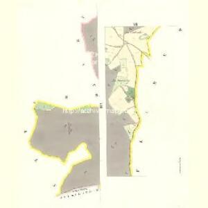 Wittiegitz (Wittiegic) - c8620-1-007 - Kaiserpflichtexemplar der Landkarten des stabilen Katasters