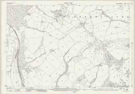 Worcestershire VIII.9 (includes: Kidderminster Foreign; Upper Arley) - 25 Inch Map