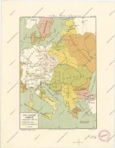 Střední a jihovýchodní Europa v druhé polovici XIV. stol.