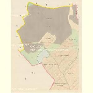 Scherowitz (Žerowic) - c9418-1-001 - Kaiserpflichtexemplar der Landkarten des stabilen Katasters