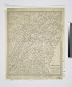 North America: sheet VII, Pennsylvania, New Jersey, Maryland, Delaware, Columbia and part of Virginia / published under the superintendence of the Society for the Diffusion of Useful Knowledge; J. & C. Walker, sculp.