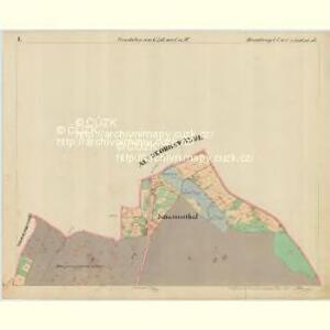 Rumburg - c6626-1-002 - Kaiserpflichtexemplar der Landkarten des stabilen Katasters