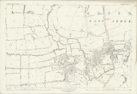 Oxfordshire X.5 (includes: Bloxham; East Adderbury; Milton; West Adderbury) - 25 Inch Map
