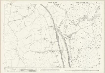 Yorkshire XLVIII.10 (includes: Firbank; Sedbergh) - 25 Inch Map