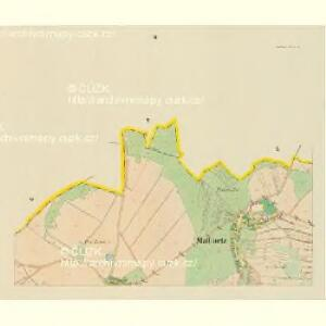 Mallinetz (Mallinec) - c4424-1-002 - Kaiserpflichtexemplar der Landkarten des stabilen Katasters