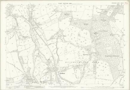 Devon XXXIV.15 (includes: Tiverton; Washfield) - 25 Inch Map