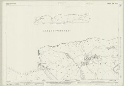 Somerset VII.11 & 8 (includes: Bitton; Charlcombe; Cold Ashton; Doynton; Keynsham; North Stoke; Weston; Wick And Abson) - 25 Inch Map