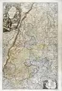 Mappa geographica ad Historiam Nigræ Silvæ Martini Gerberti S.R.I.P. monasterii & congreg. S. Blasii. abbatis