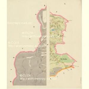 Alt Daubitz - c1452-1-009 - Kaiserpflichtexemplar der Landkarten des stabilen Katasters