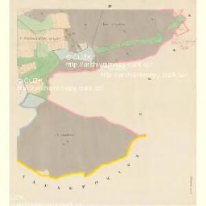 Pratzowitz (Pracowice) - c6065-1-004 - Kaiserpflichtexemplar der Landkarten des stabilen Katasters