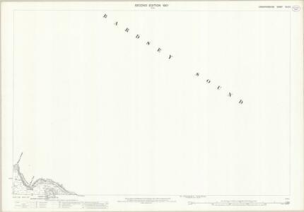 Caernarvonshire XLVI.6 (includes: Bardsey Island) - 25 Inch Map