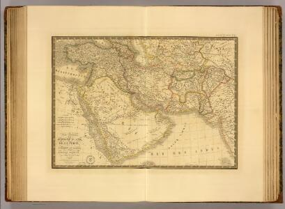 Turquie d'Asie, Perse, Arabie, Caboul, Turkestan Independant.