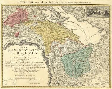 Nova Landgraviatvs Turgoviæ Chorographica Tabula