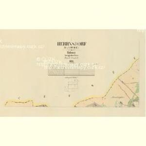 Herrnsdorf (Panowice) - c1834-1-001 - Kaiserpflichtexemplar der Landkarten des stabilen Katasters