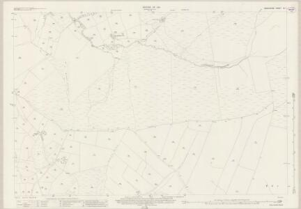 Derbyshire IX.1 (includes: Chinley Bugsworth and Brownside; Hayfield) - 25 Inch Map